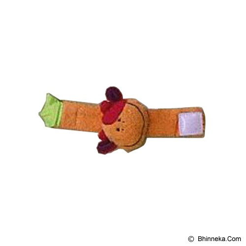 EARLY LEARNING CENTER Gelang Boneka Rattle Sapi [MI009 KBAJ] - Orange - Beauty and Fashion Toys